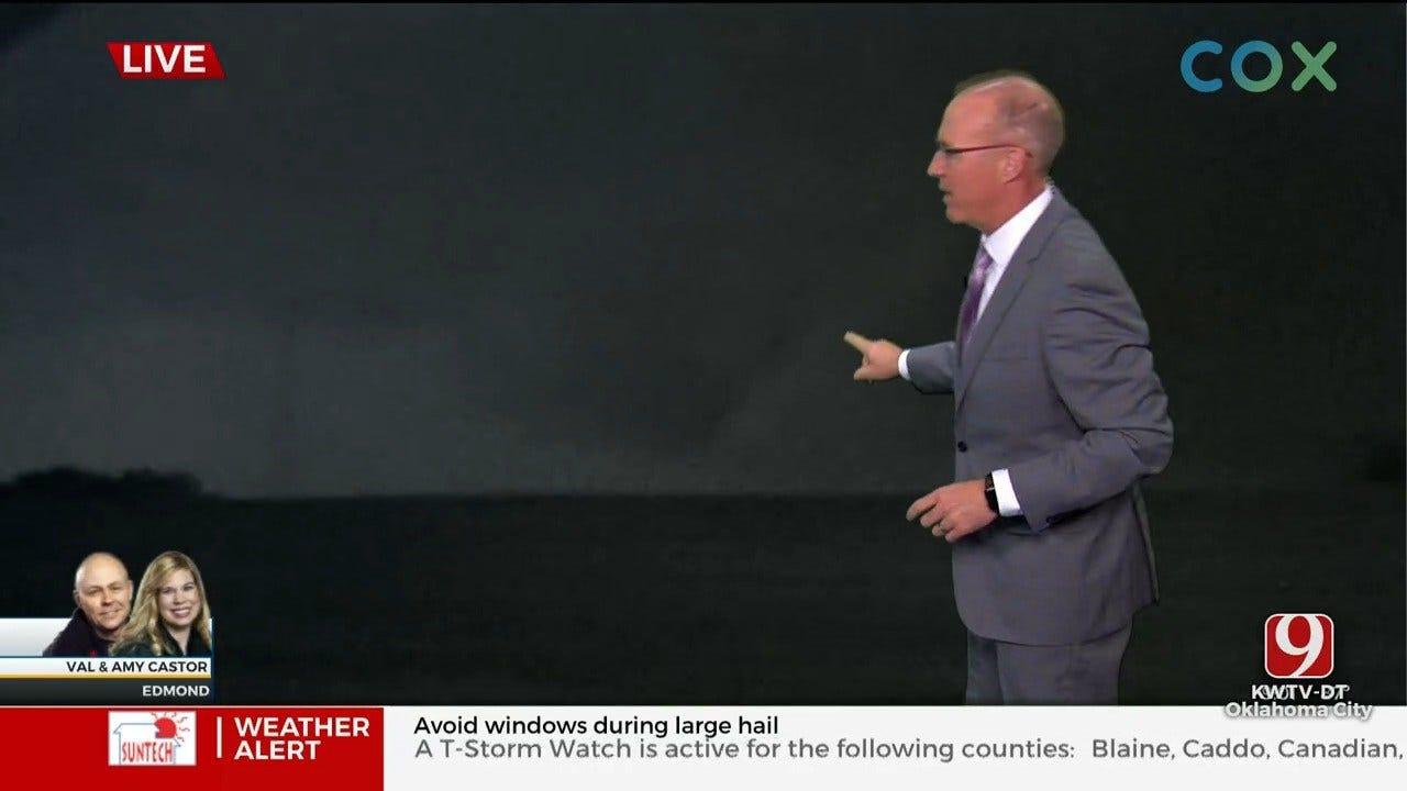Tornado Touches Down Near Seward, North Of Edmond