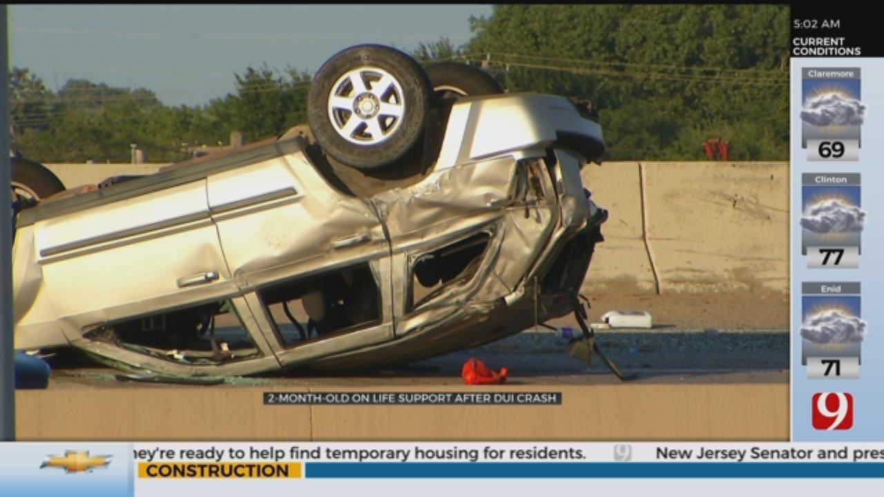 Infant On Life Support After DUI Crash