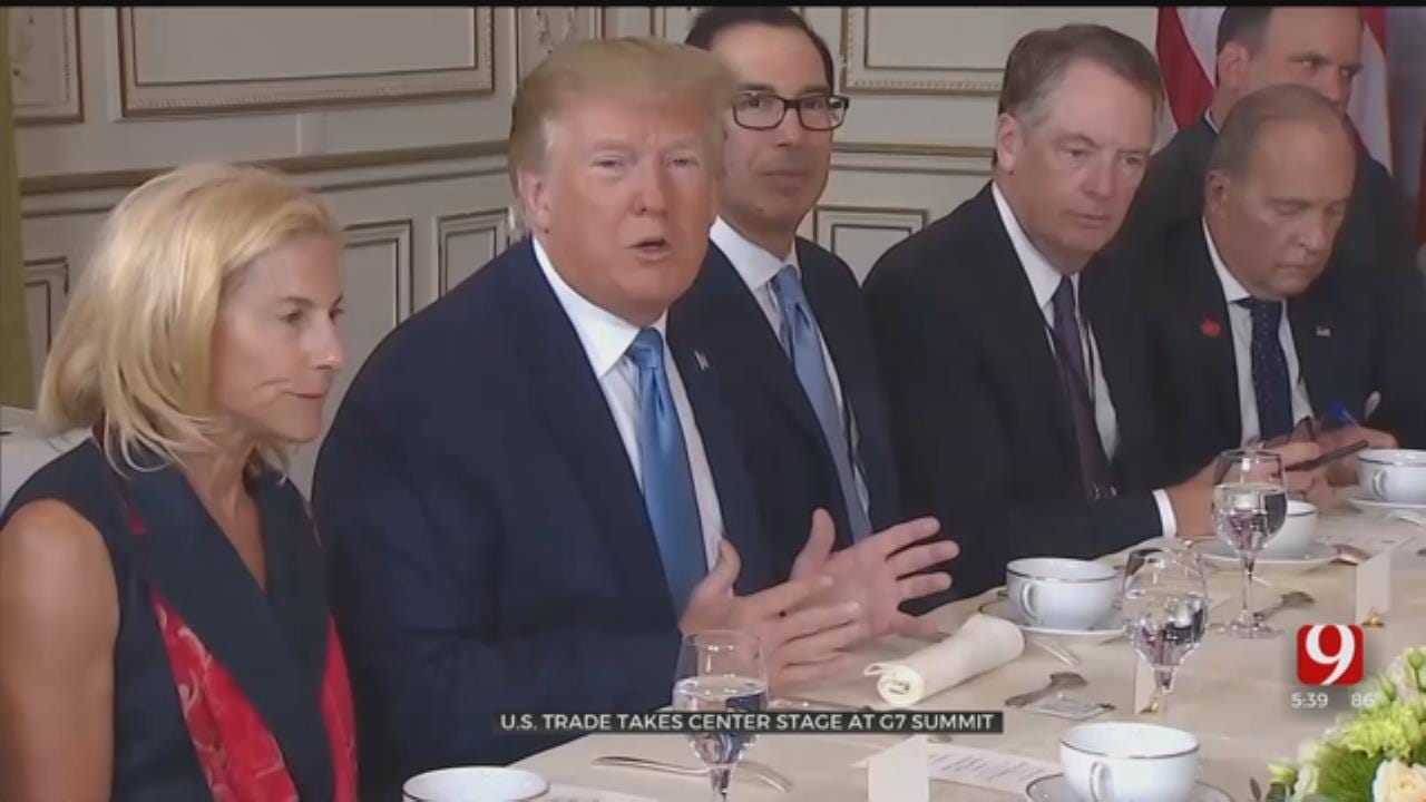 U.S. Trade Takes Center Stage At G7 Summit