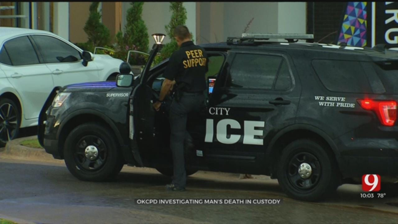 OKC Police Investigating After Suspect Dies In Custody
