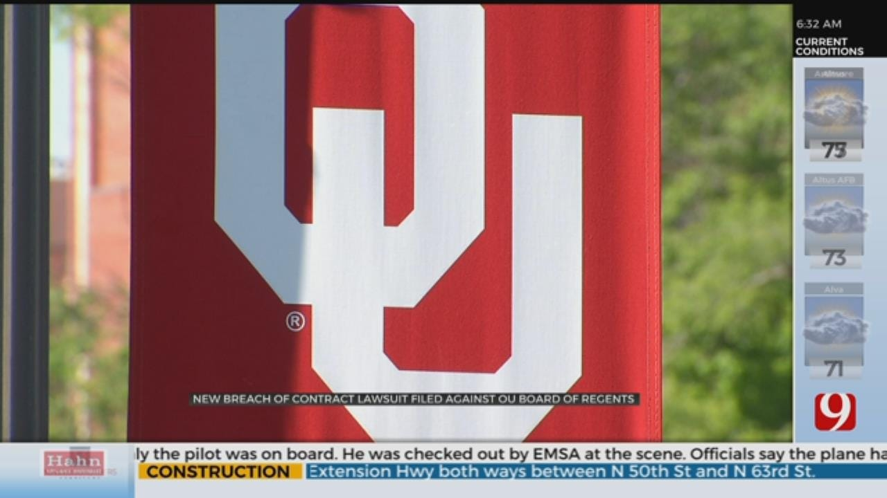New Breach Of Contract Lawsuit Filed Against OU Board Of Regents