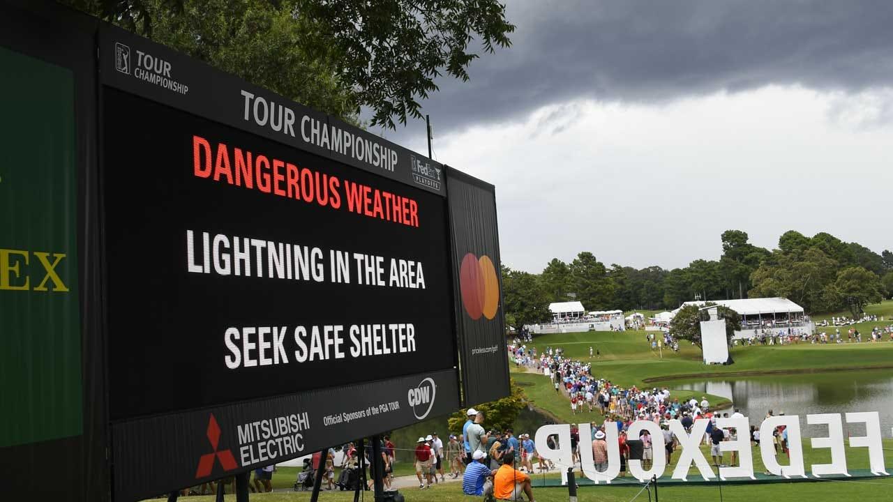 Lightning Strike Leaves At Least 6 Injured At PGA Tournament In Atlanta