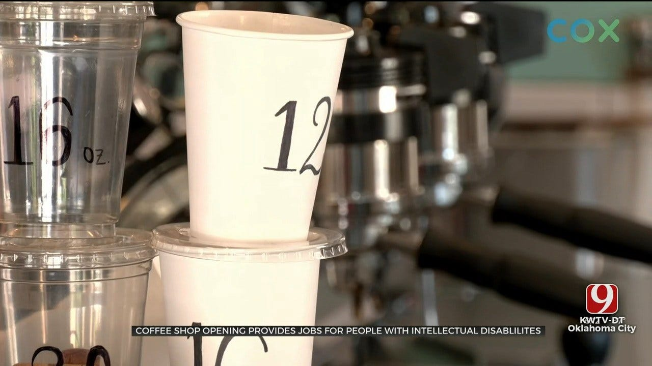 Coffee Shop Opening Provides Jobs For Disabled People