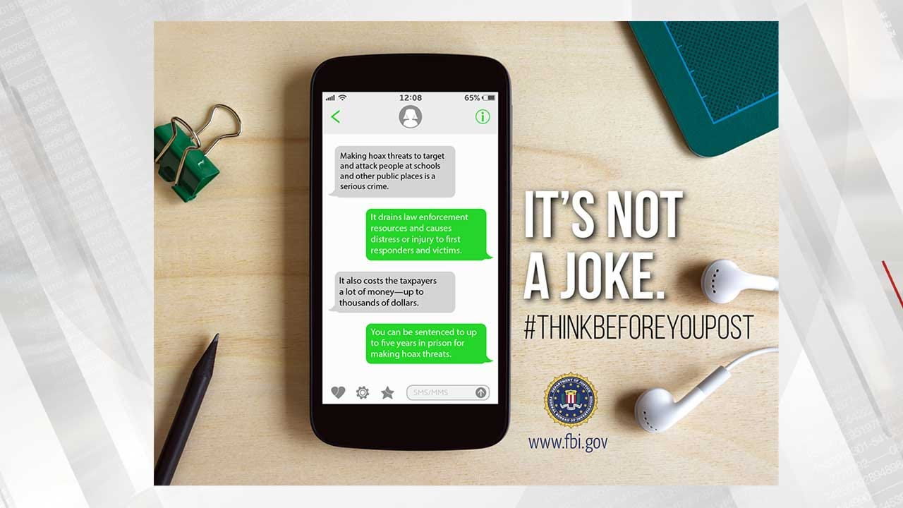 Okla. FBI Relaunches Fake Threat Awareness After Hoaxes