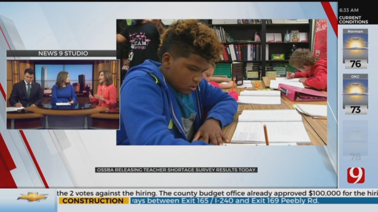 OSSDA To Release Teacher Shortage Survey Results