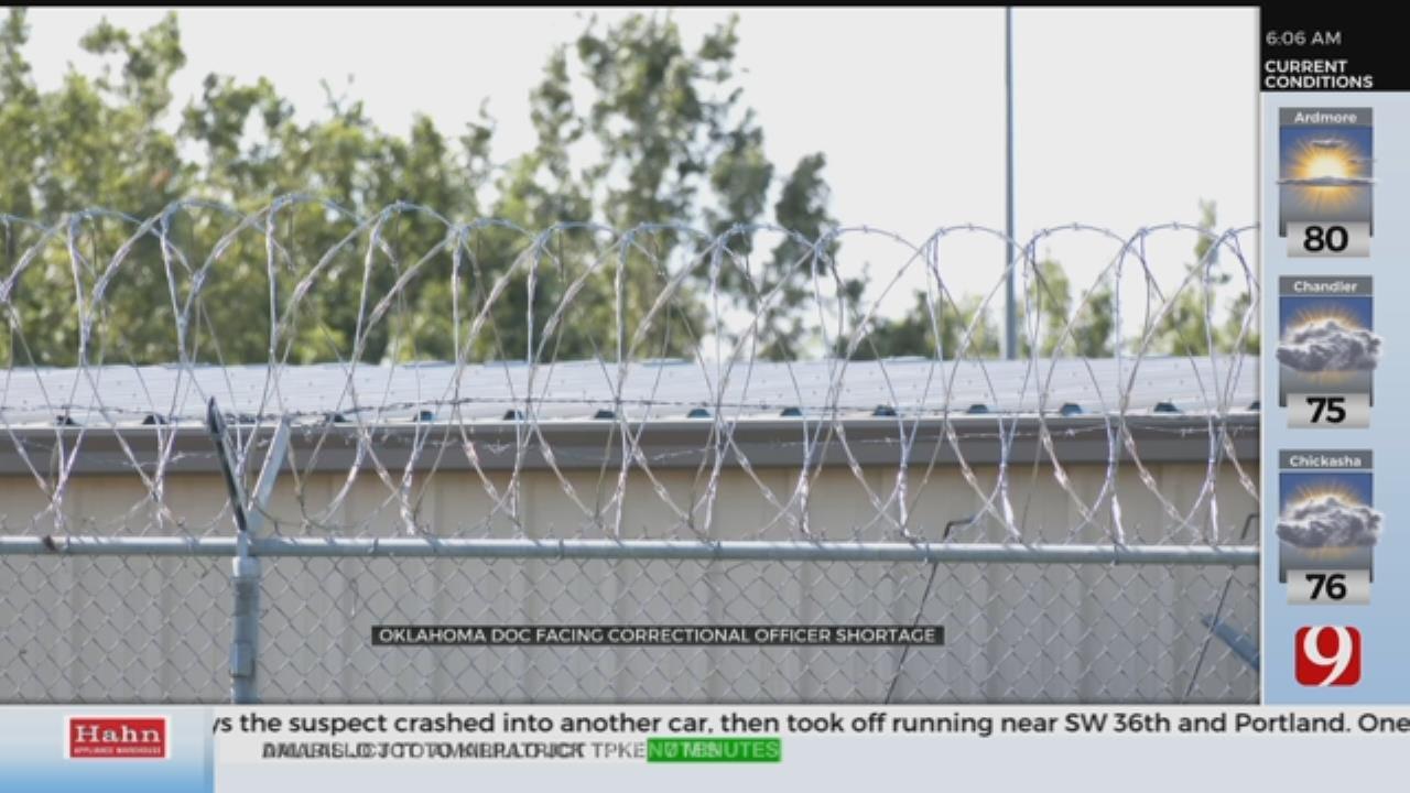 ODOC Facing Correctional Officer Shortage
