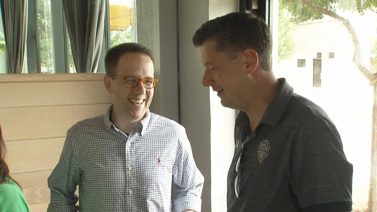 OKC, Tulsa Mayors Work Together To Make Positive Statewide Impact