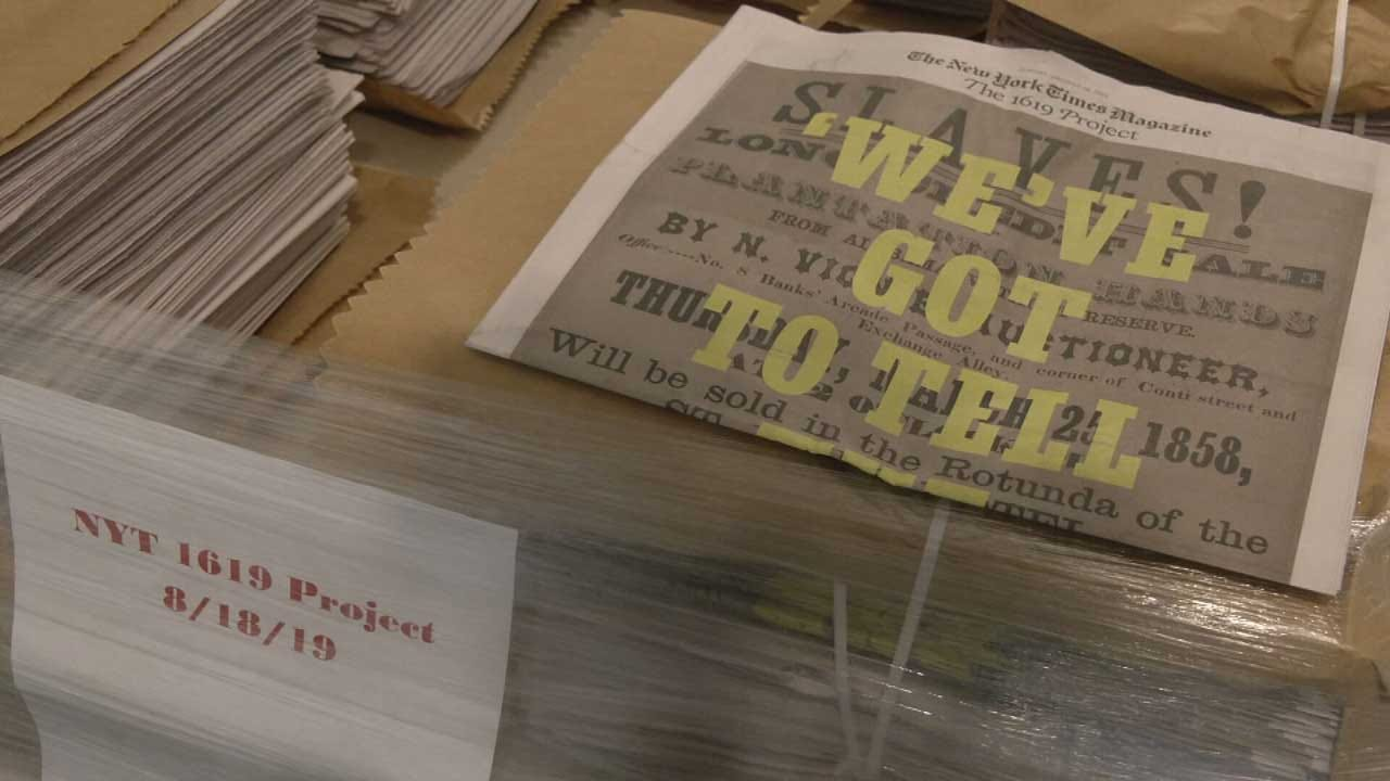 Special Slavery Edition Of New York Times Arrives In Oklahoma