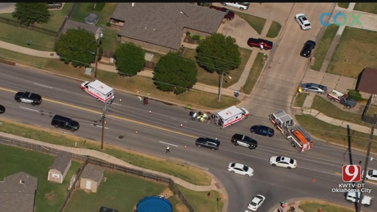 Injury Crash Reported In Moore