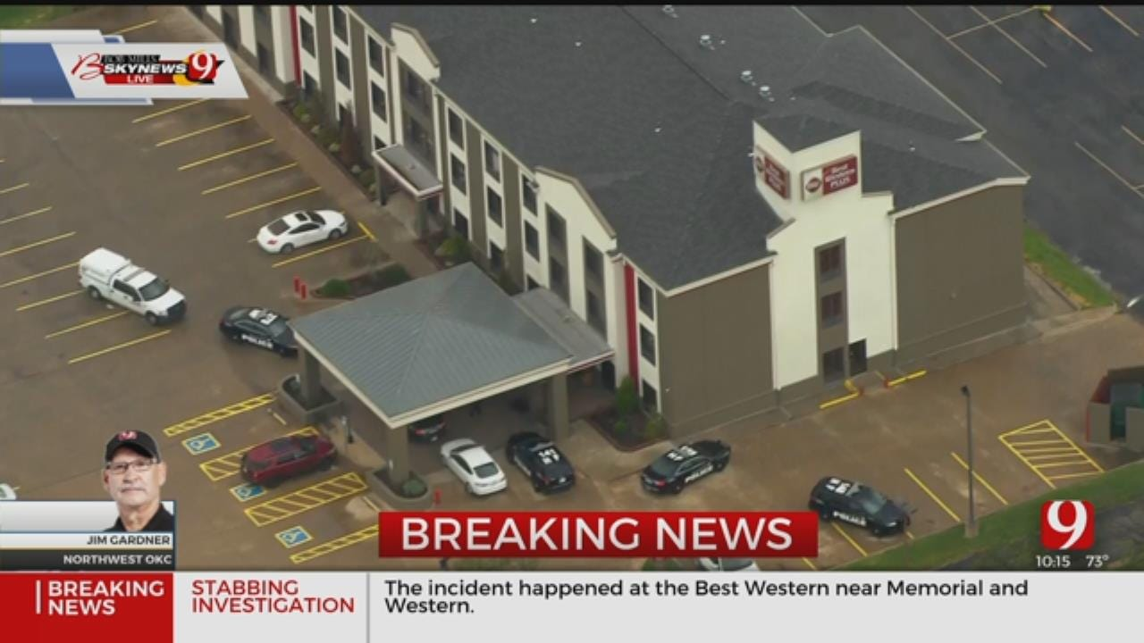 Suspect On The Run After Fight Between NW OKC Hotel Employees Leads To Stabbing