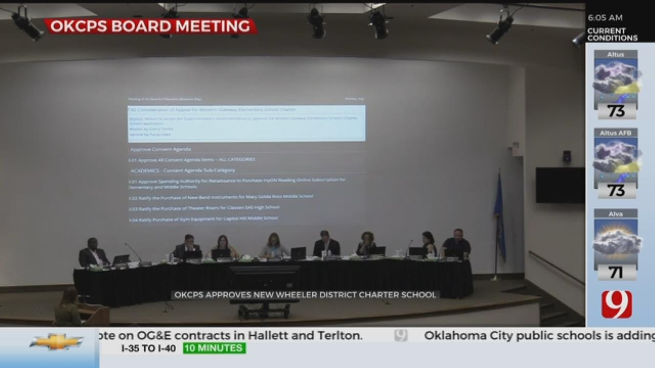 OKCPS Approves New Wheeler District Charter School