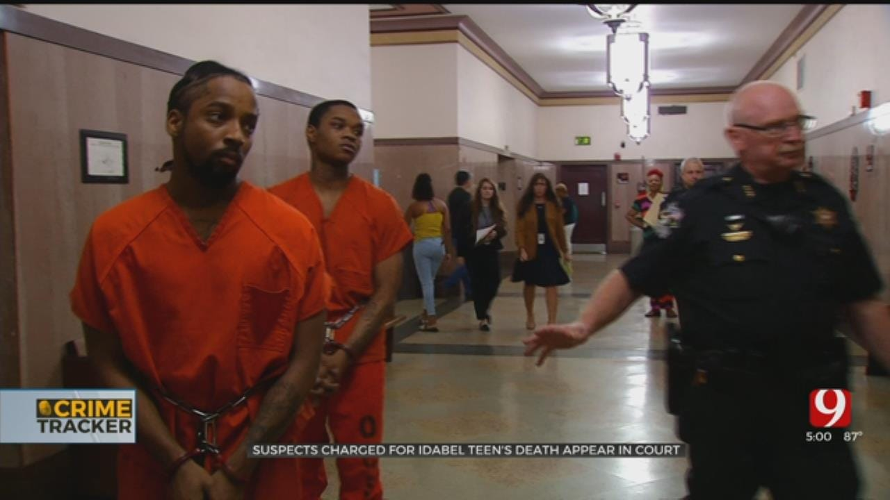 Suspects Charged In Death Of Idabel Teen Make Court Appearance