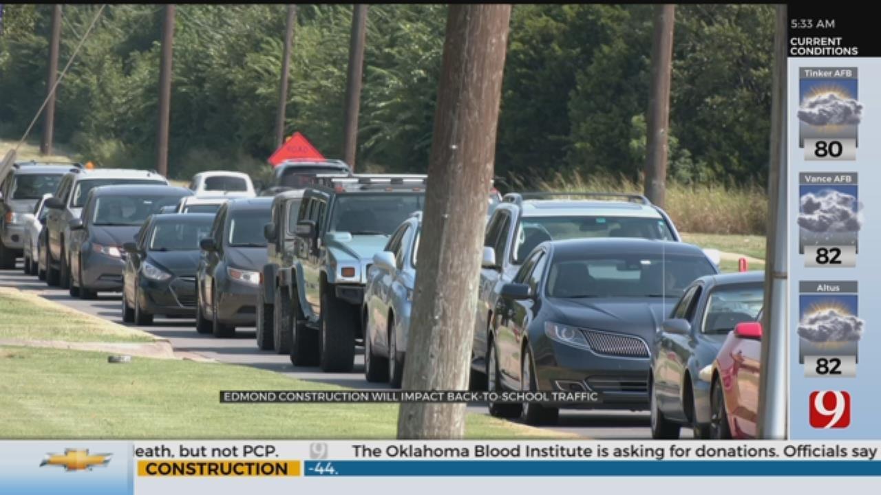 Edmond Construction To Impact Back-To-School Traffic