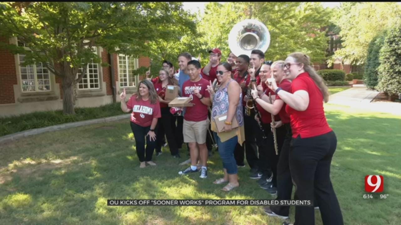 Students With Disabilities Surprised With Acceptance Letters Into OU's 'Sooner Works' Program