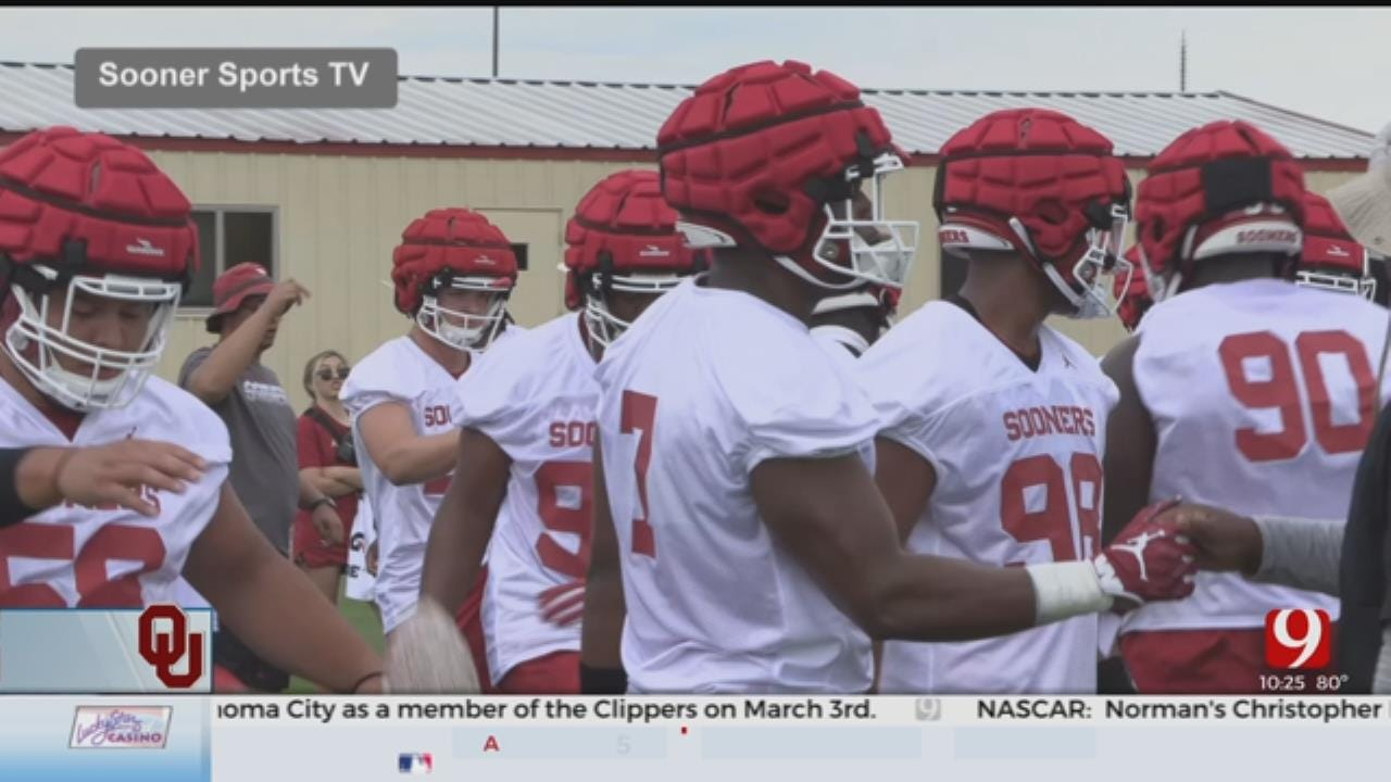 Practice No.1 In The Books For OU Football