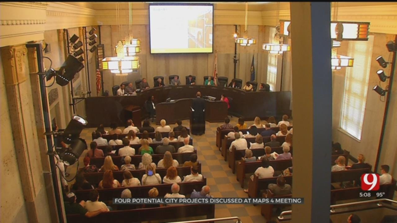 4 Projects Presented To OKC City Council In 8-Hour Long MAPS 4 Meeting