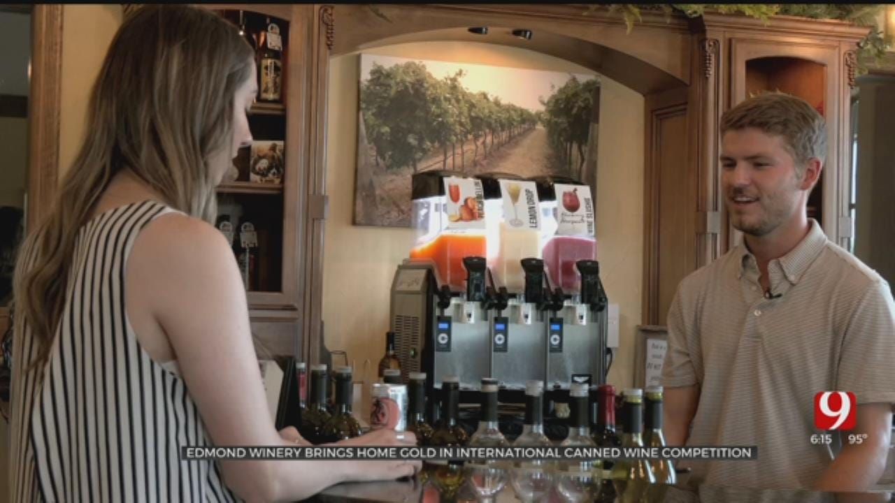 Edmond Winery Wins Gold In International Competition