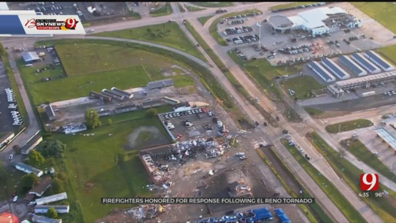 El Reno Tornado First Responders Honored By Cheyenne & Arapaho Tribes