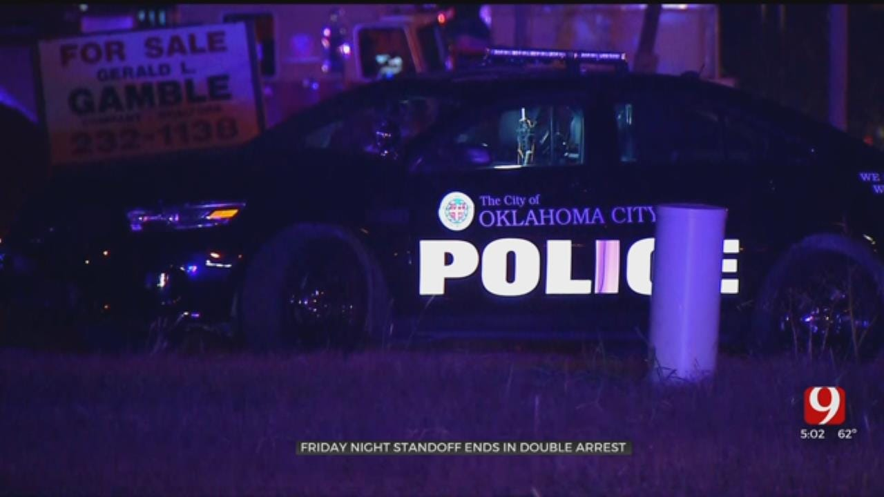 2 In Custody After Standoff In OKC