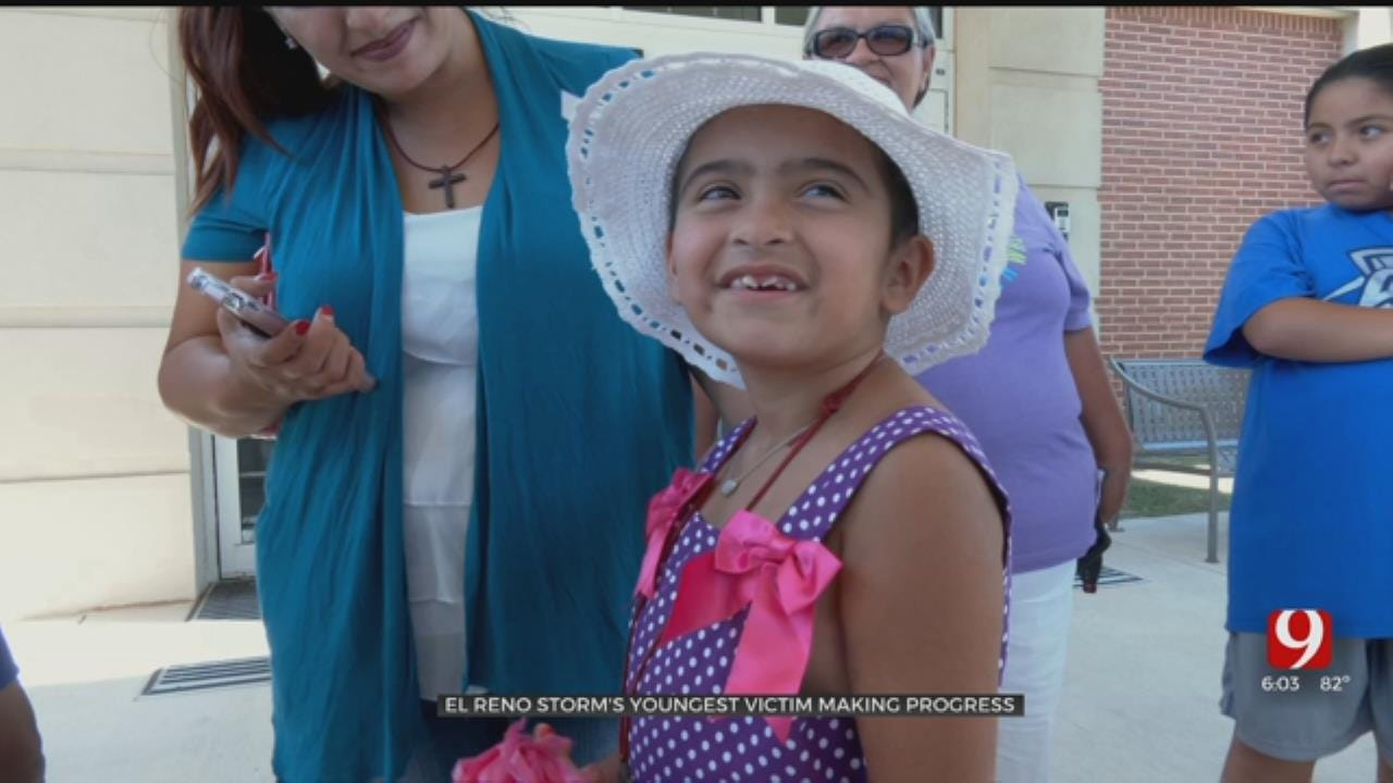 'She Is Doing Amazing': 7-Year-Old El Reno Tornado Survivor Released From Hospital