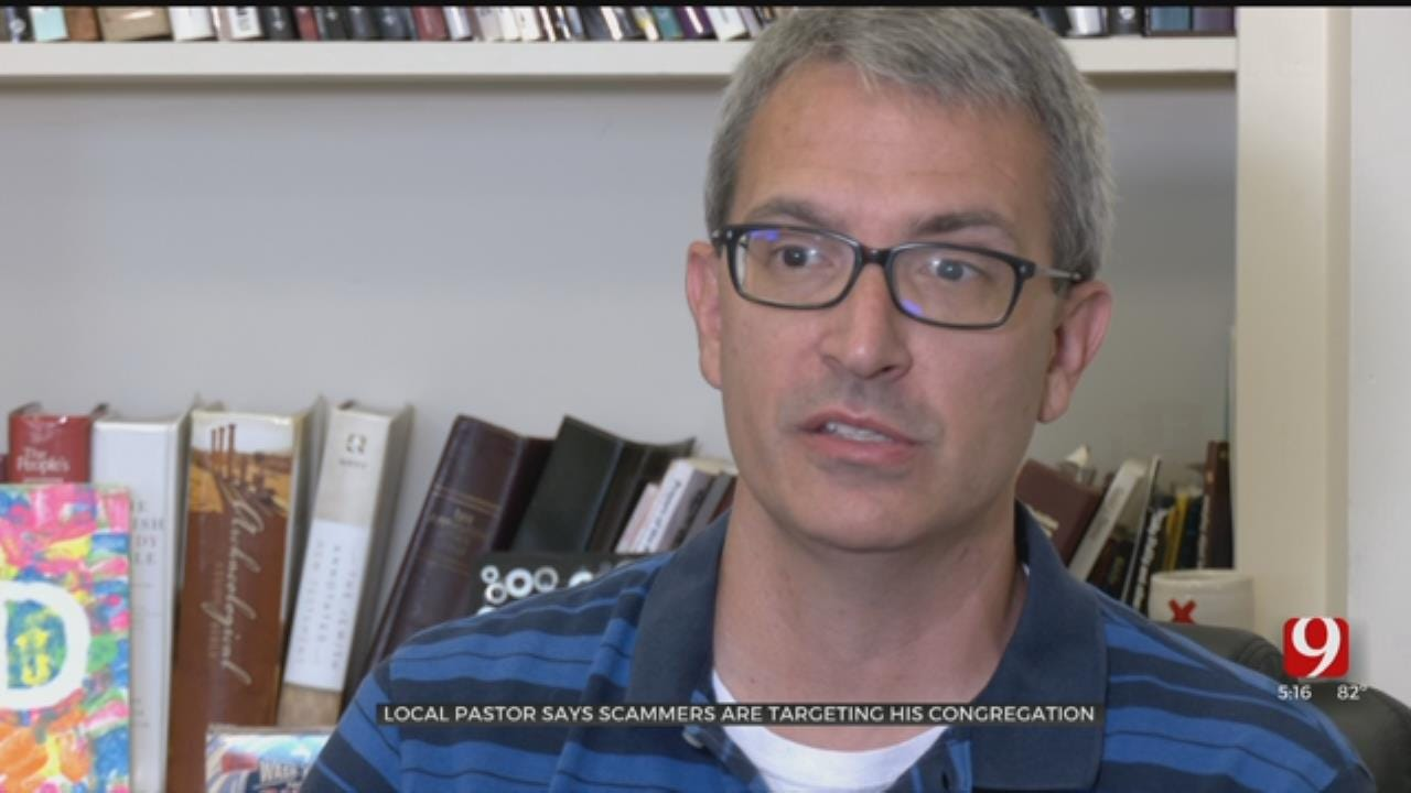 Guthrie Pastor Says Scammers Are Targeting His Congregation