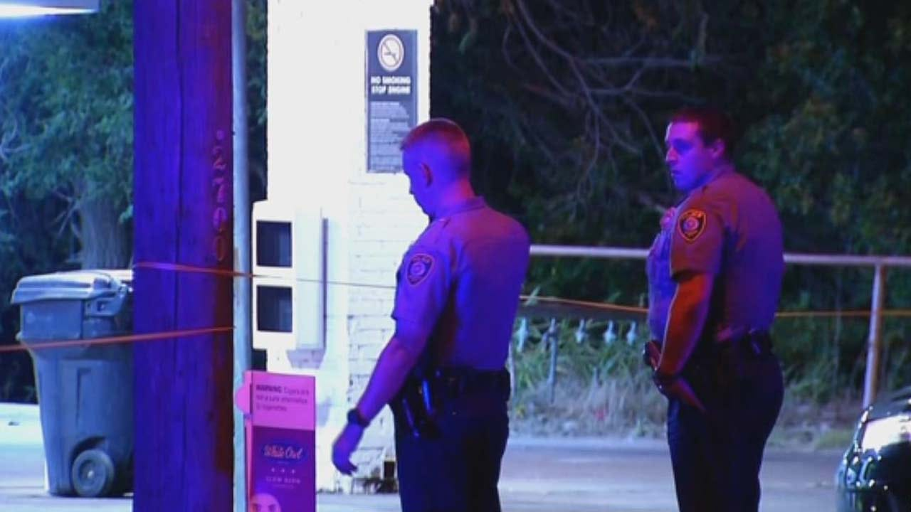 Gas Station Brawl In OKC Ends With Shots Fired, 1 Sent To Hospital