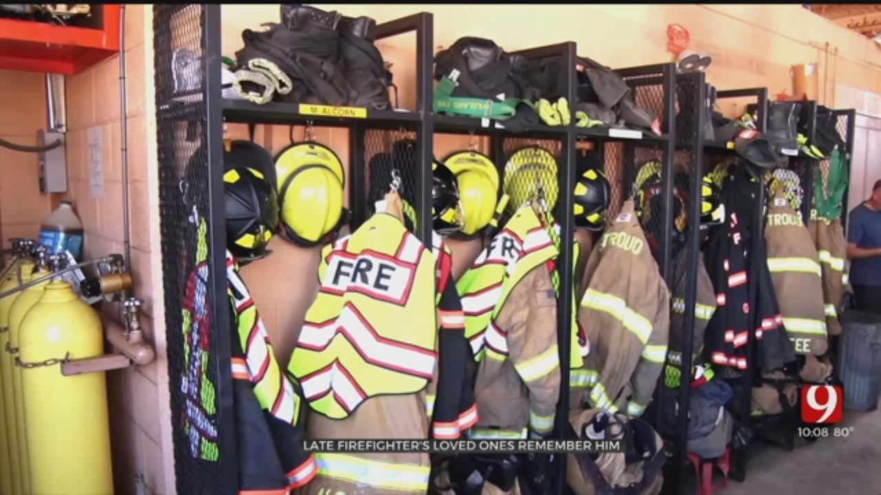 Stroud Firefighter Dies Following Crash, Body Returns Home