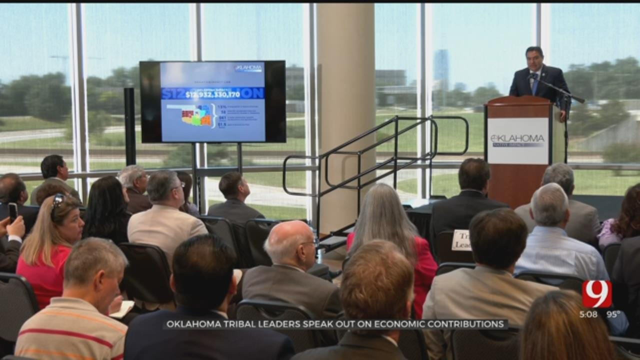 Oklahoma Tribal Leaders Speak On Economic Contributions