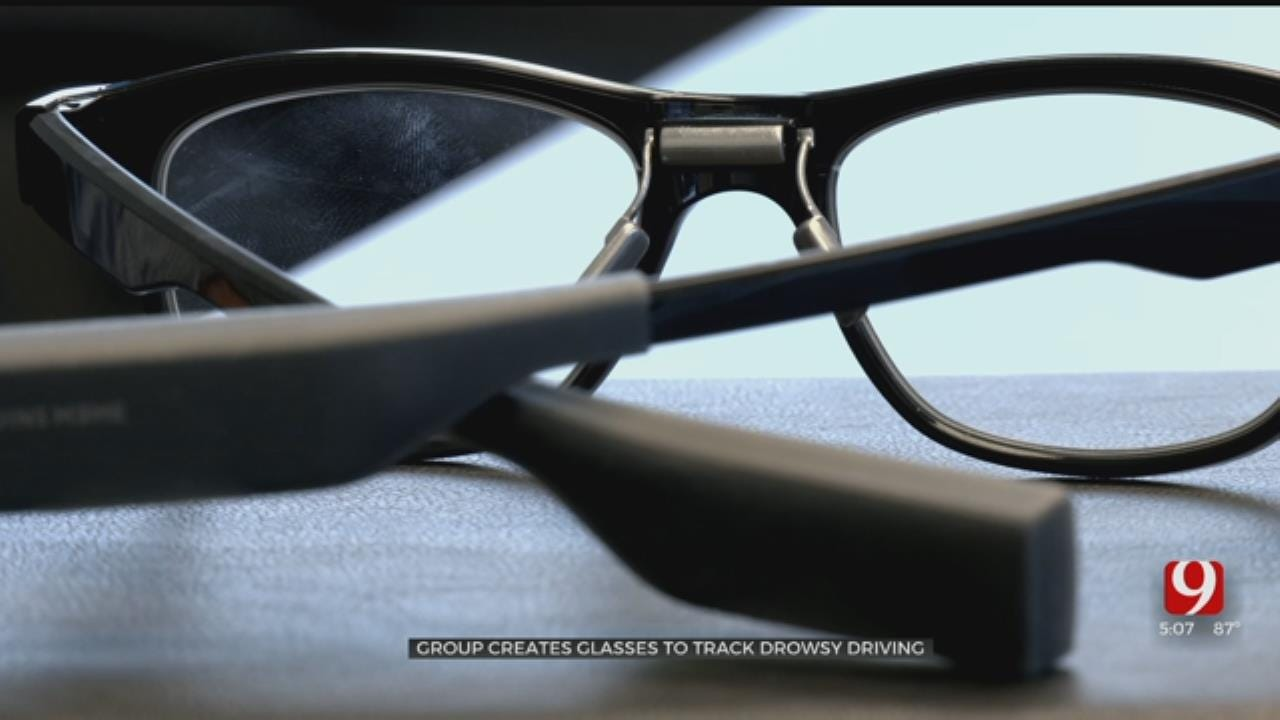 OKC Company Creates Glasses That Monitor Fatigue Levels While Driving