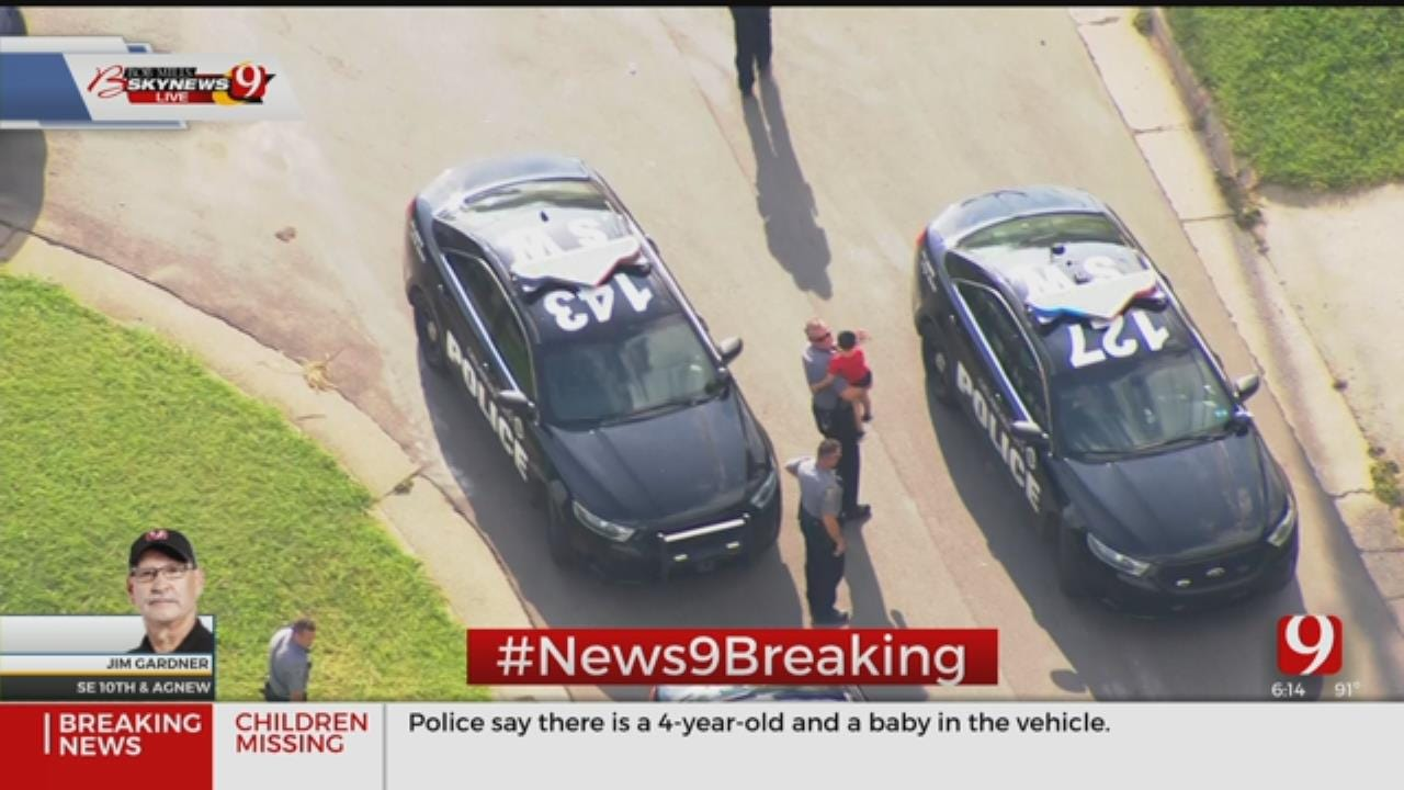 2 Children Are Safe, Driver Arrested After Police Recover Stolen Vehicle In SW OKC