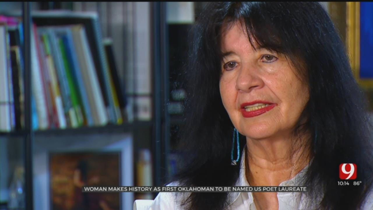 Woman Makes History As First Oklahoman To Be Named US Poet Laureate