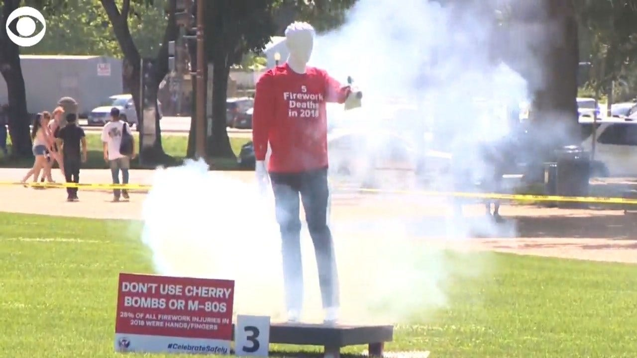 WARNING: Safety Expert Share Reminder On Dangers Of Fireworks
