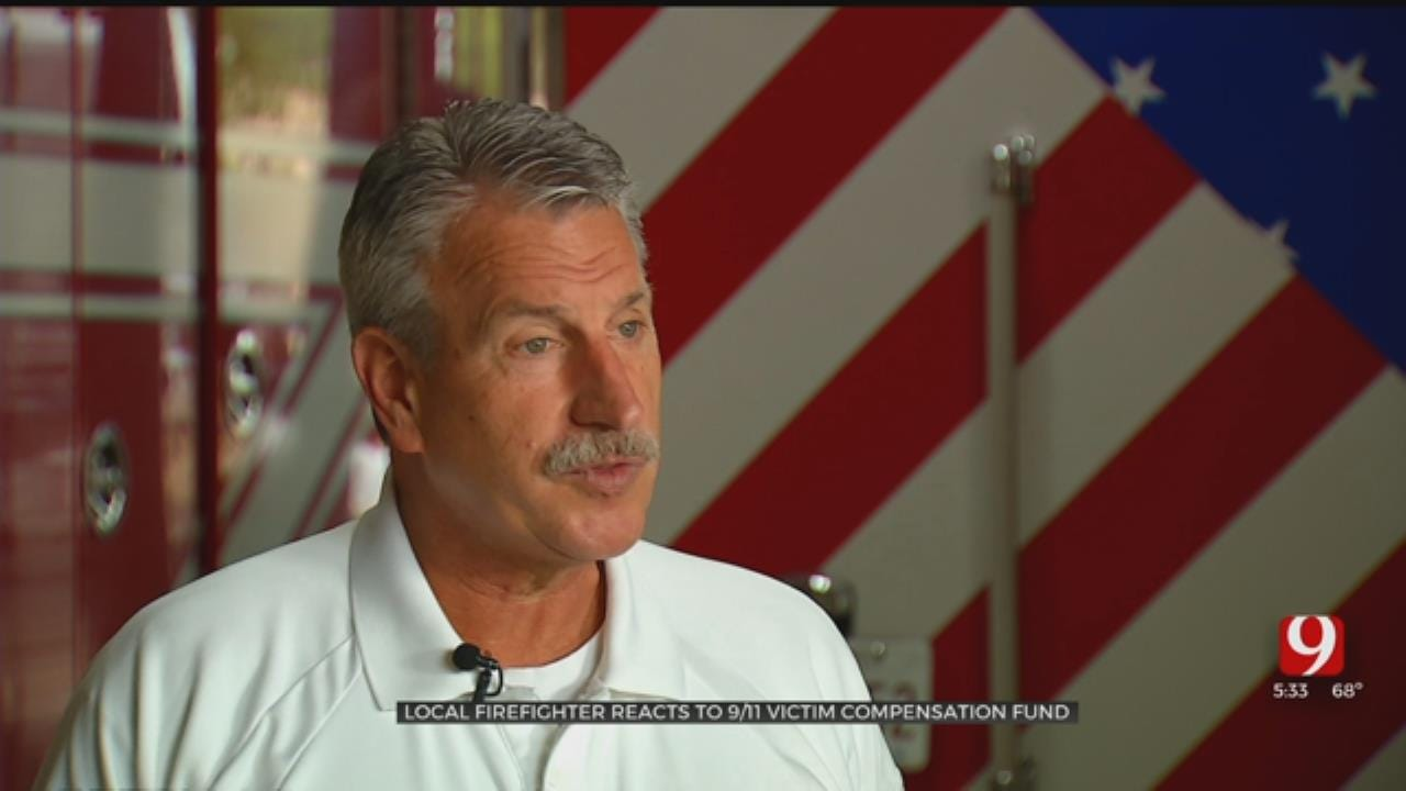 Local Firefighter Weighs In On 9/11 Victim Compensation Fund Bill