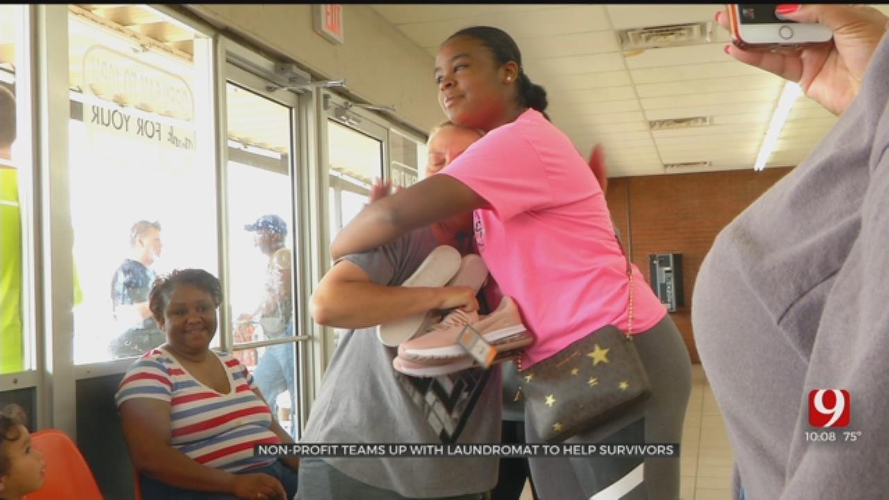 Non-Profit Teams Up With Laundromat To Help El Reno Tornado Victims