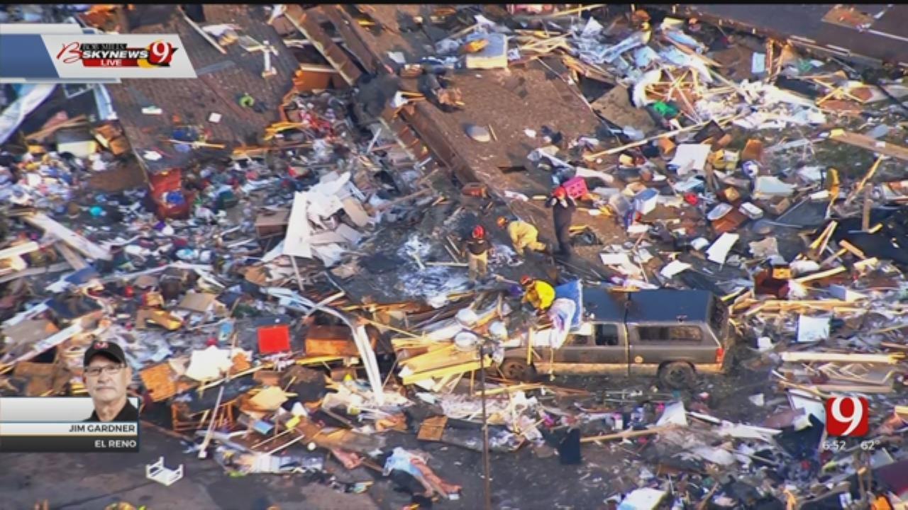 WATCH: Crews Survey Damage From Deadly El Reno Tornado