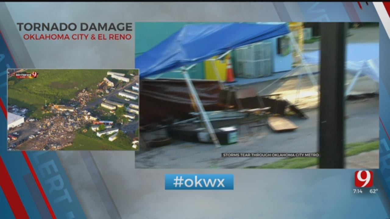Paseo Arts Festival Organizers To Clean Up After Storm, Continue Festival