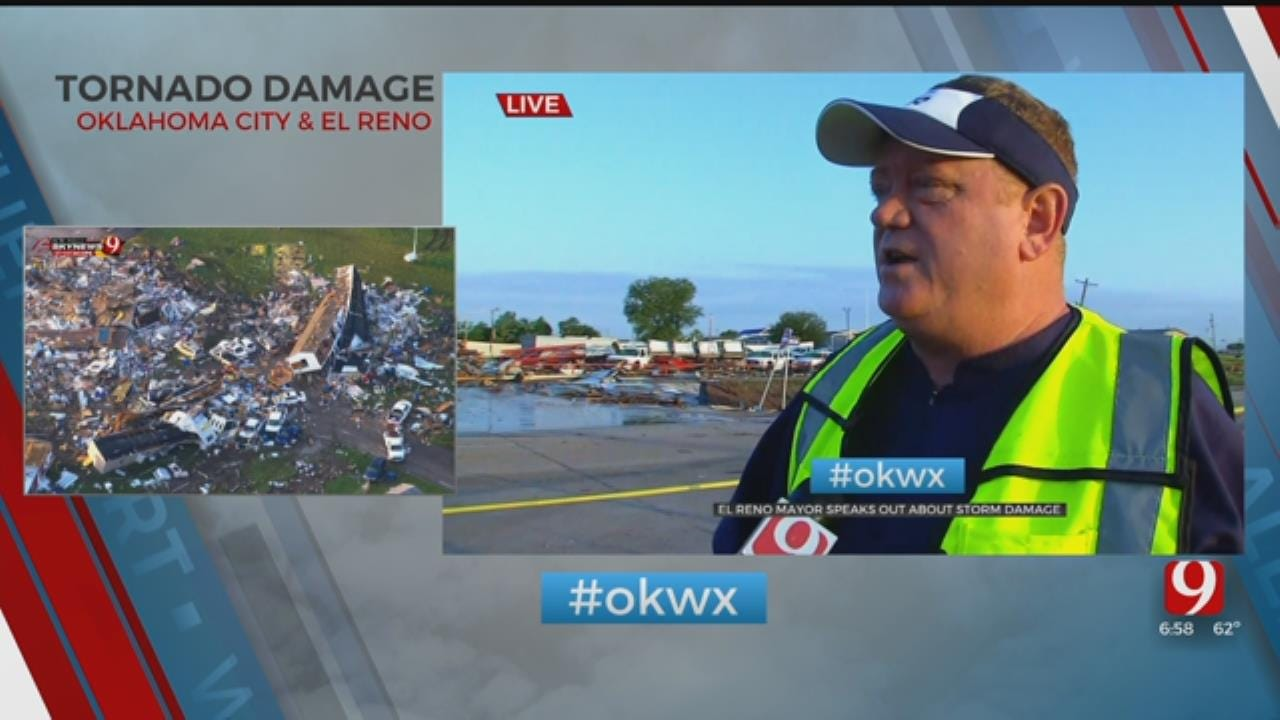 'Pray For Us; Pray For El Reno': Mayor Speaks With News 9 From Scene