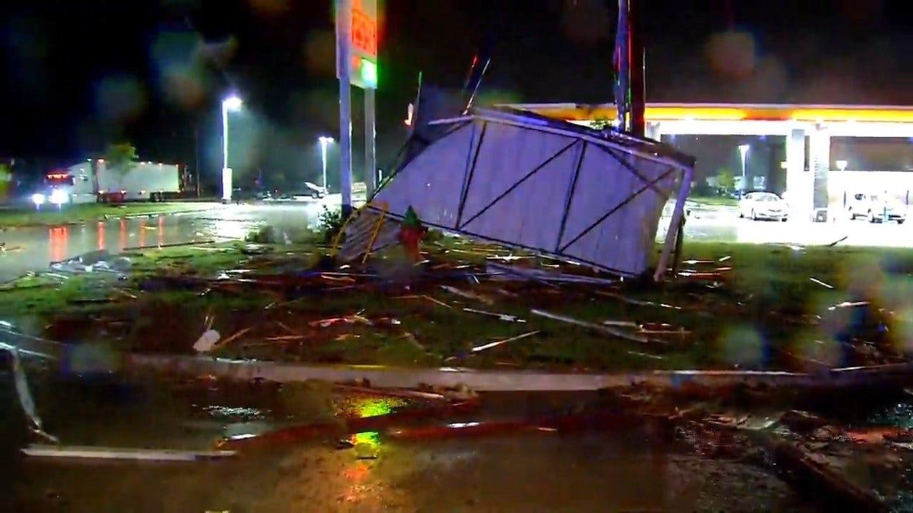 RAW VIDEO: Significant Damage From Tornado In El Reno