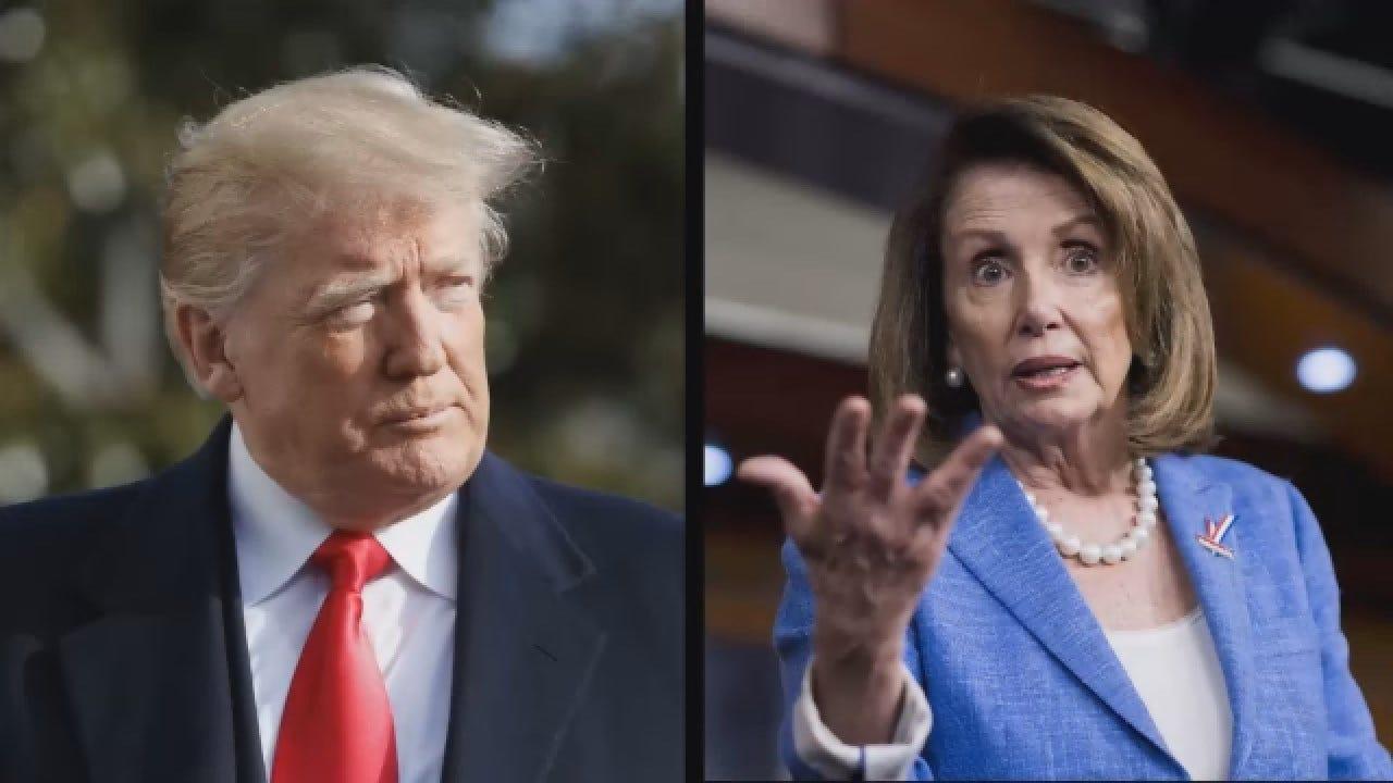 President Trump, Speaker Pelosi Question Each Other Capabilities