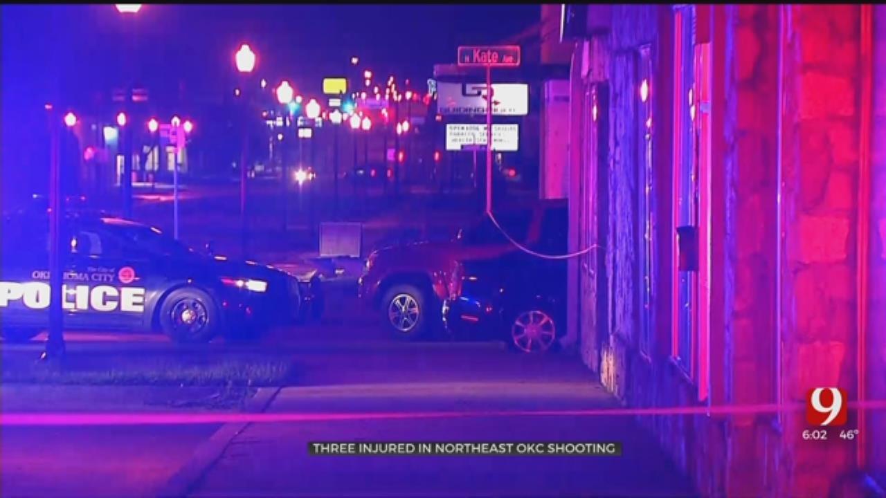 3 Injured In Shooting Near OKC Club