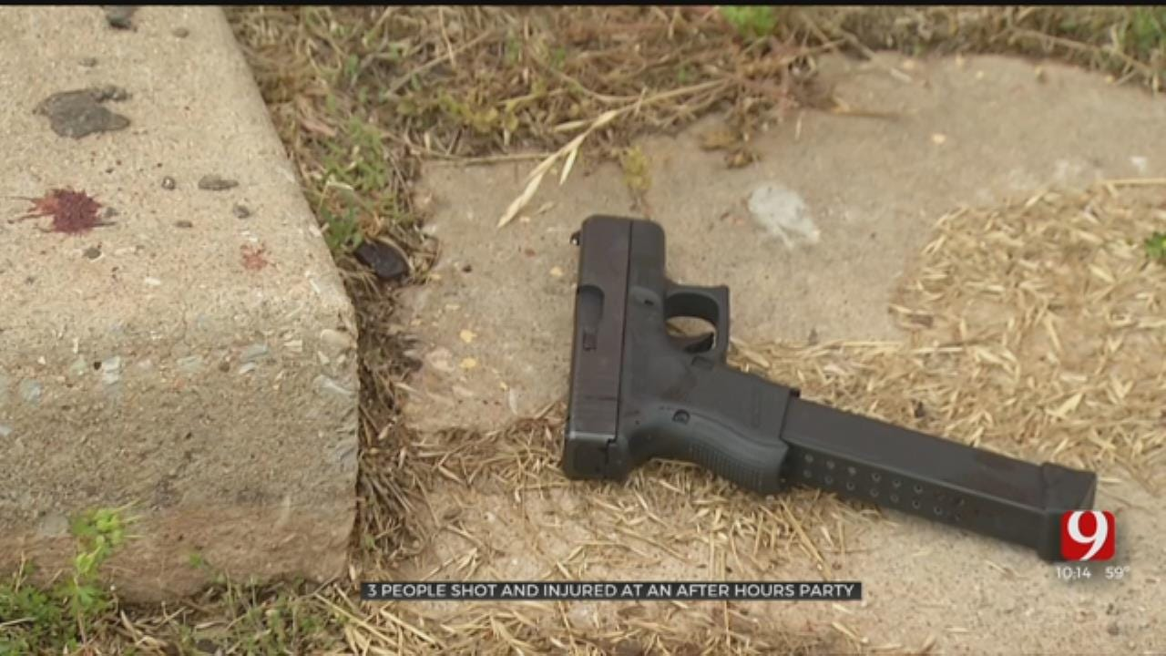 Guns Found After Shootout in Northeast Oklahoma City