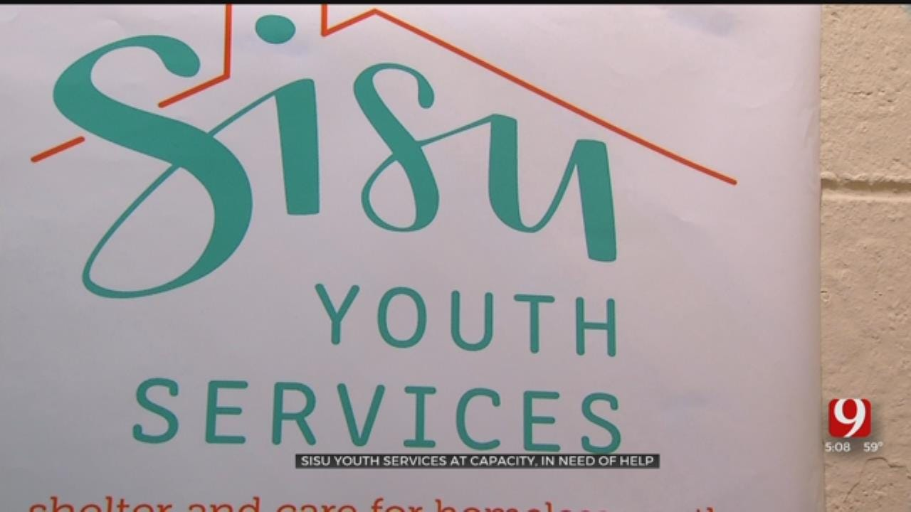 OKC Homeless Shelter For Youth At Capacity, Seeking Donations