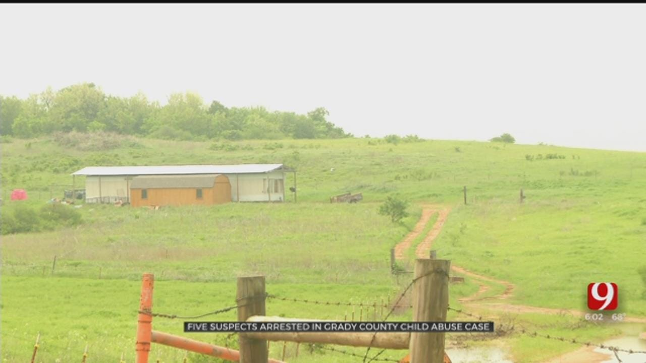 14-Year-Old Boy Allegedly Abused, 5 Suspects Arrested In Grady County