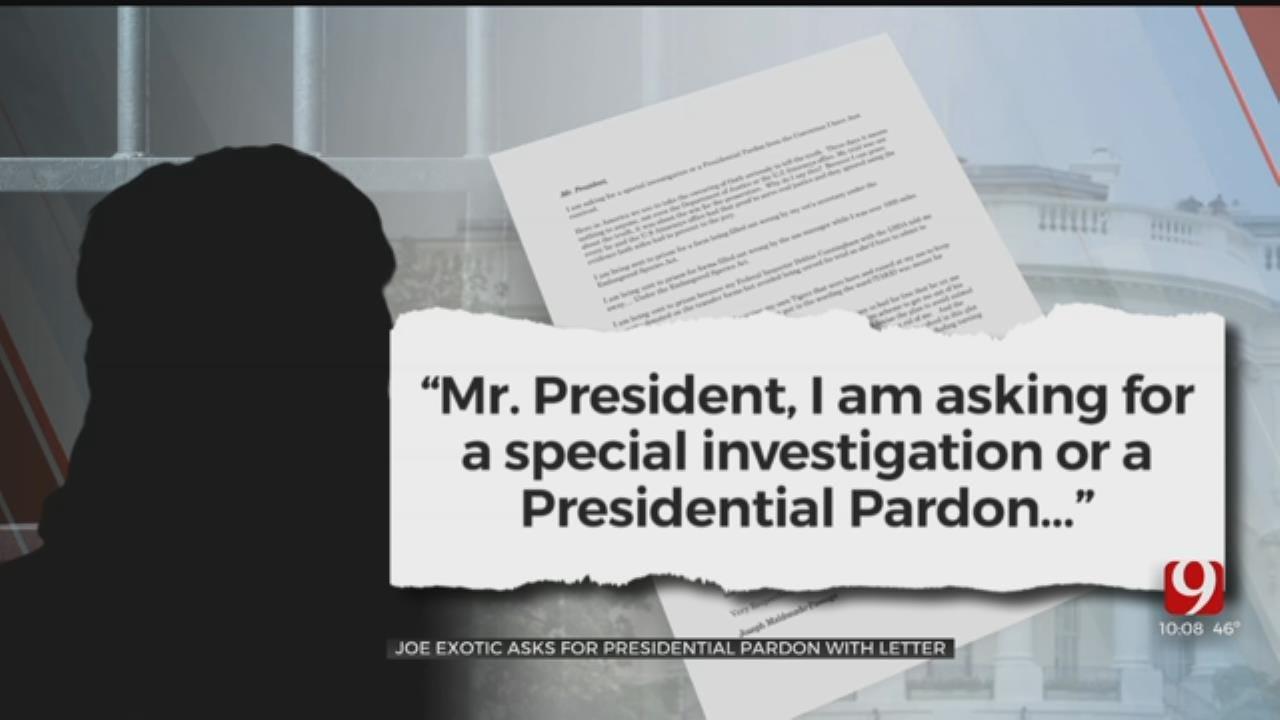 Joe Exotic Writes Letter To President Trump Asking For Pardon