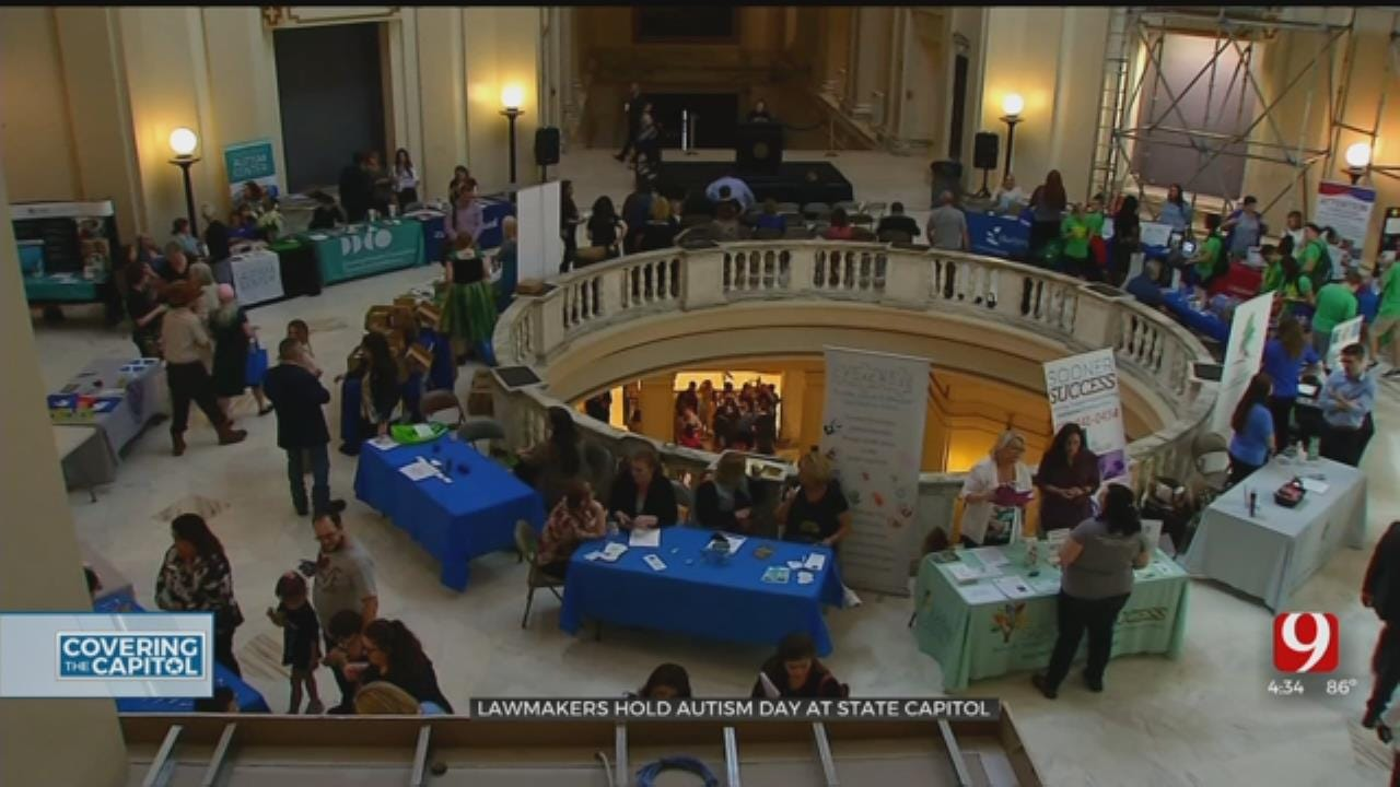 Autism Awareness Day At State Capitol