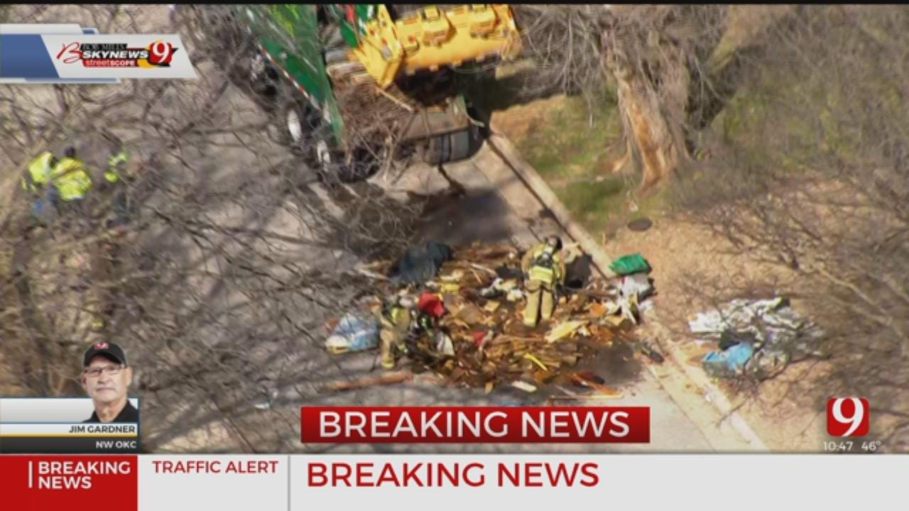 WATCH: Hazmat Situation Reported In NW OKC