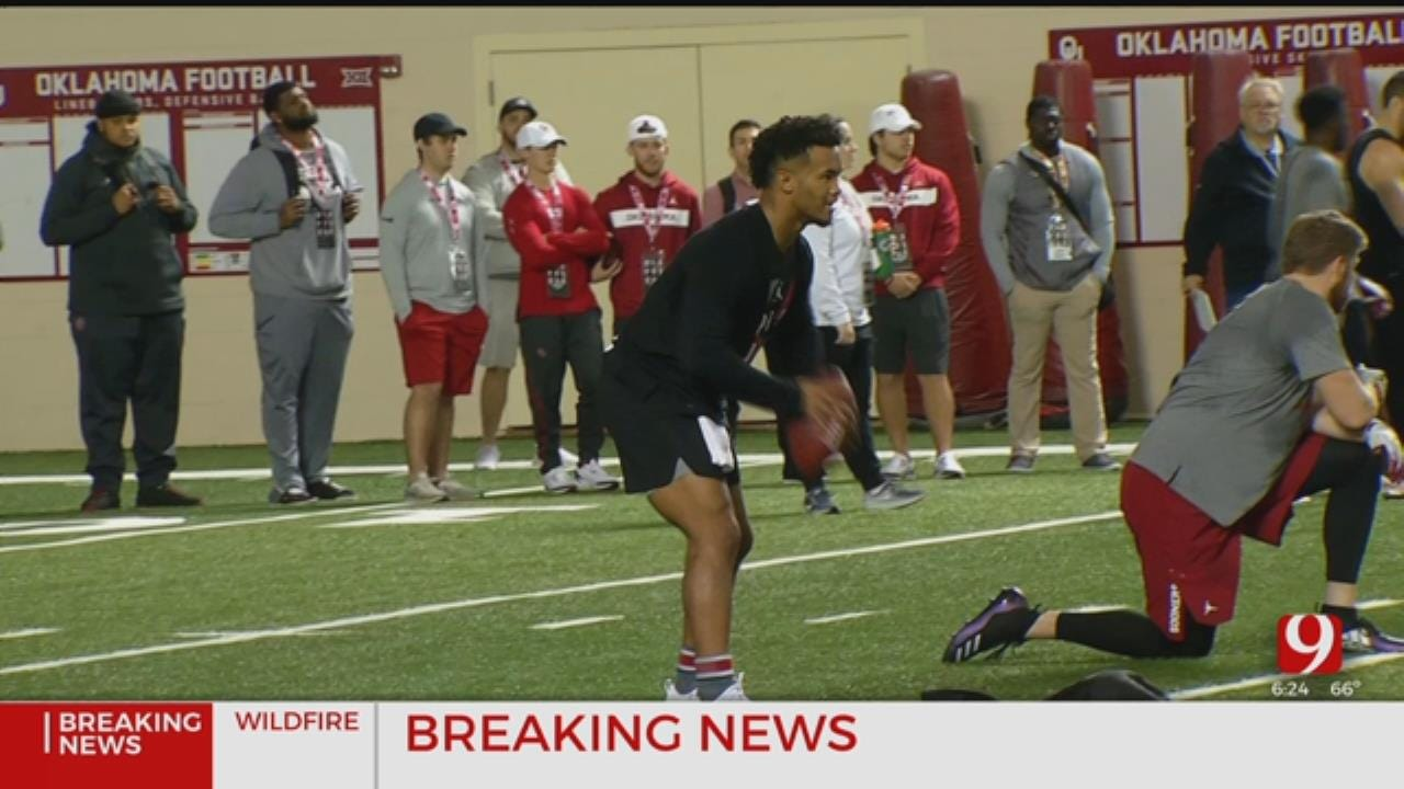 Dean Blevins Breaks Down Kyler Murray's Pro Day