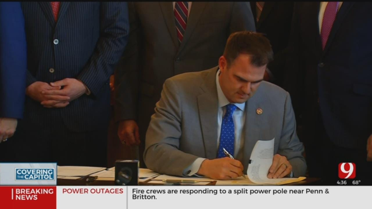 Gov. Stitt Signs 5 Bills To Increase His Power In Office