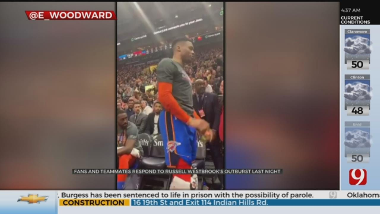 WATCH: Westbrook Gets In Verbal Altercation With Utah Jazz Fan