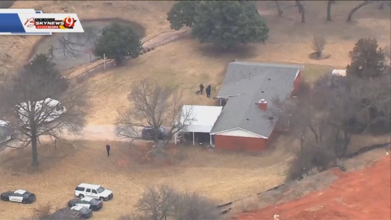 WATCH: Aerials Of Search Warrant Executed At Home Of Edmond Double-Homicide Victims